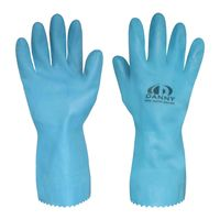 Luva-Latex-Silver-T9-G-Azul-Danny