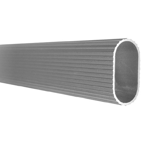 Tubo-Oblongo-Para-Cabideiro-1m-Aluminio---Bemfixa