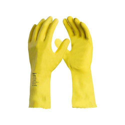 Luva-de-Latex-Natural-M-amarela-Danny
