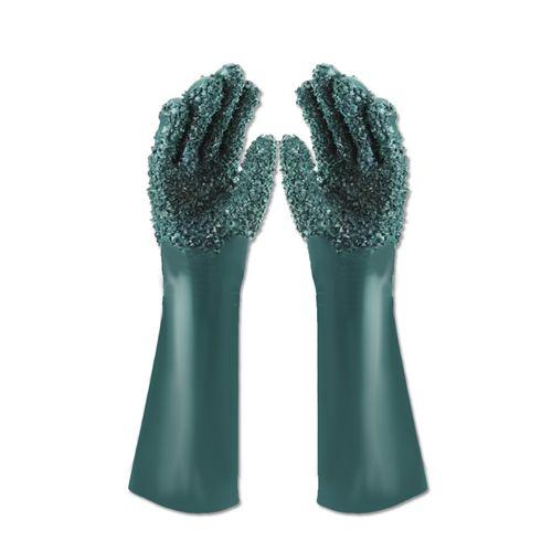 Luva-Granulada-PVC-Forrada-35cm-Handschuhe