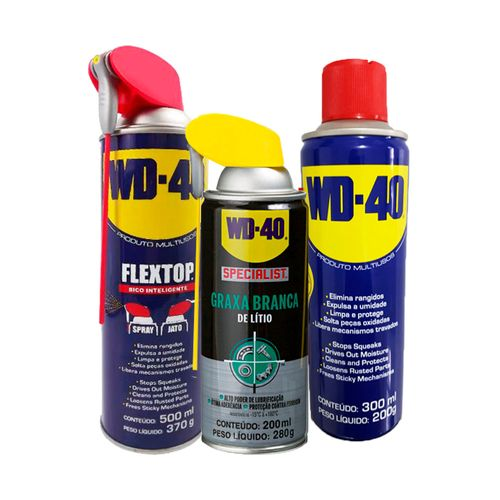 Kit-WD-40-Oleo-Flextop-500ml---Multiuso-300ml---Graxa-Branca-de-Litio-400ml-