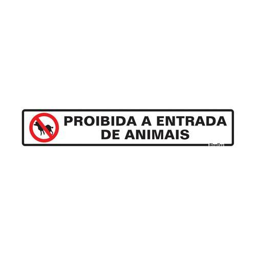 PLACA-SINALIZE-SINALIZACAO-PROIB-ENTRADA-DE-ANIMAIS-5X25CM