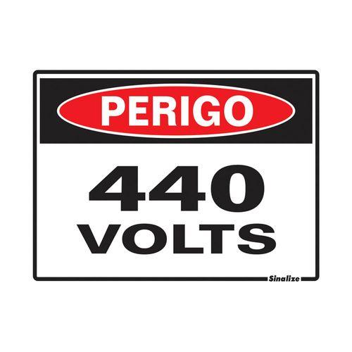 PLACA-SINALIZE-DE-SINALIZACAO-PERIGO-440-VOLTS-15X20CM