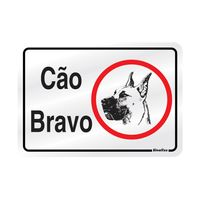 PLACA-SINALIZE-DE-SINALIZACAO-CAO-BRAVO-16X23CM