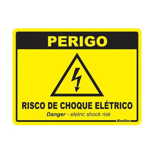PLACA-SINALIZE-SINALIZACAO-PERIGO-RISCO-DE-CHOQUE-15X20CM