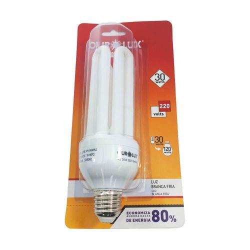 LAMPADA-OUROLUX-4U-COMPACTA-SOQUETE-E27-BRANCA-30W-220V