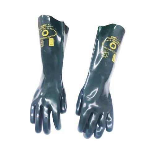 LUVA-HANDSCHUHE-PVC-HEXANOL-45CM-TAMANHO-95-G-SEM-FORRO