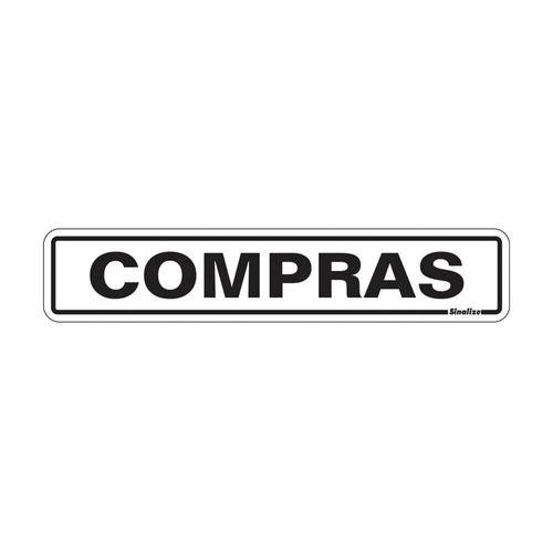 PLACA-SINALIZE-DE-SINALIZACAO-COMPRAS-5X25CM
