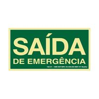 PLACA-SINALIZE-SINALIZACAO-SAIDA-DE-EMERGENCIA-20X40CM
