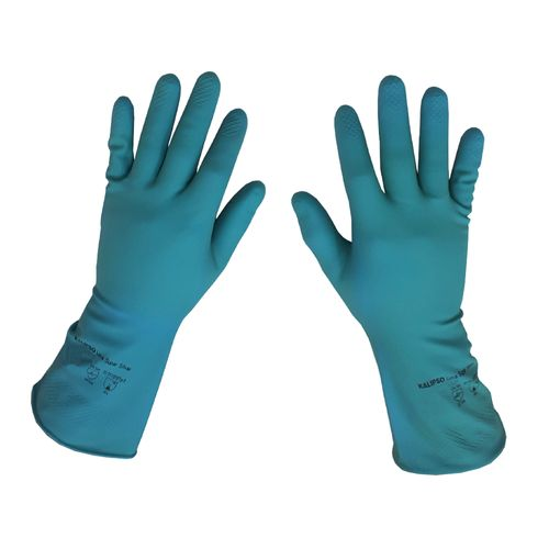 LUVA-KALIPSO-LATEX-SUPER-SILVER-7-P-AZUL