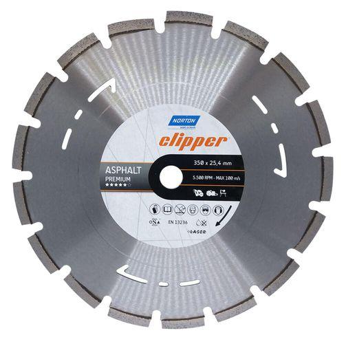 DISCO-DIAMANTADO-CLIPPER-NORTON-ASFALTO-PREMIUM-350-X-254MM