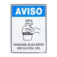 PLACA-DE-SINALIZACAO-SINALIZE-USE-ALCOOL-GEL-15X20CM
