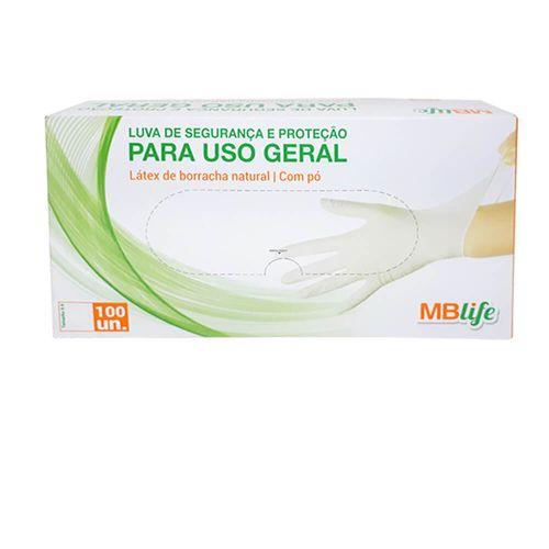 LUVA-DE-LATEX-MBLIFE-NATURAL-TAMANHO-7-P-100-UNIDADES-COM-PO