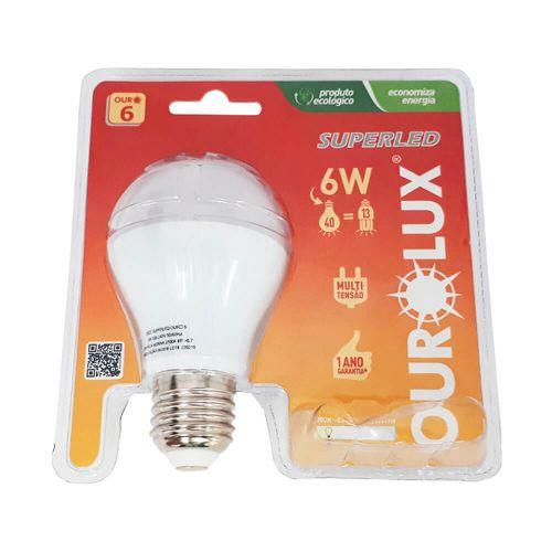 LAMPADA-SUPER-LED-SOQUETE-OUROLUX-E27-AMARELA-6W-BIVOLT