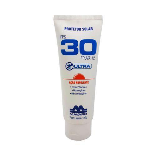 PROTETOR-SOLAR-FPS-30-MAVARO-ULTRA-COM-REPELENTE-120G